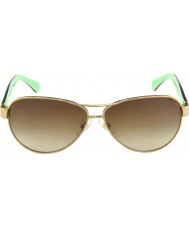 Ralph RA4096 59 Essential Gold Cream 101-13 Sunglasses