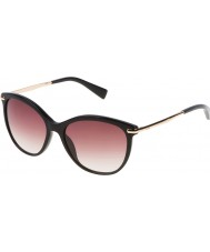 Furla Ladies Stella SU4961-700 Shiny Black Sunglasses