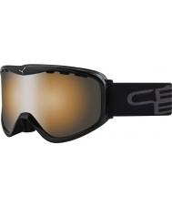Cebe CBG72 Ridge OTG Black - Orange Flash Mirror Ski Goggles