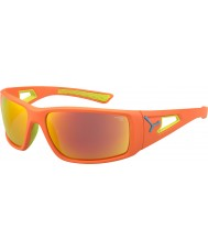 Cebe Session Orange Lime 1500 Grey Mirror Orange Sunglasses