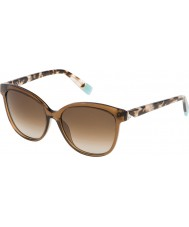 Furla Ladies Penelope SU4962S-851 Shiny Tobacco Sunglasses