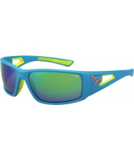 Cebe Session Blue Orange 1500 Grey Mirror Green Sunglasses