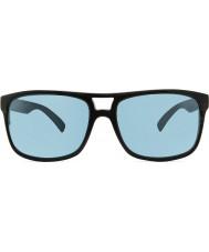 Revo RE1019 Holsby Black Woodgrain - Blue Water Polarized Sunglasses