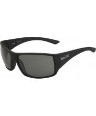 Bolle Tigersnake Shiny Black Polarized TNS Sunglasses