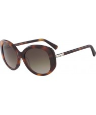 Longchamp Ladies LO601S 214 55 Sunglasses