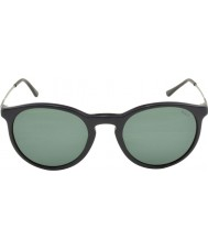 Polo Ralph Lauren PH4096 50 Classic Flair Vintage Black 528471 Sunglasses