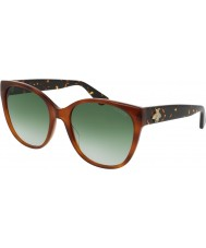 Gucci Ladies GG0097S 003 Sunglasses
