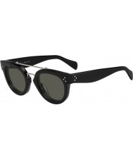 Celine Ladies CL 41043-S 807 1E Black Sunglasses