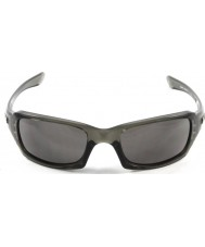 Oakley OO9238-05 Fives Squared Grey Smoke - Warm Grey Sunglasses