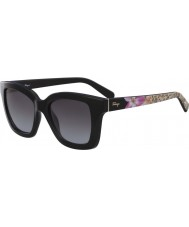 Salvatore Ferragamo Ladies SF858S-001 Sunglasses