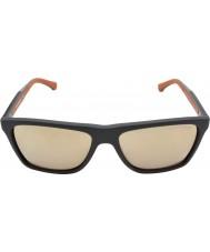Emporio Armani EA4001 56 Modern Dark Grey Rubber 51005A Sunglasses