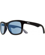 Revo RE1000 Huddie Matte Black - Blue Water Polarized Sunglasses