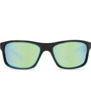Revo RE4071 Harness Black - Green Water Polarized Sunglasses