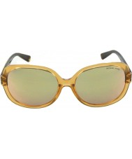 Michael Kors MK6017 58 Glam Glossy Brown Tortoiseshell 3051R5 Sunglasses
