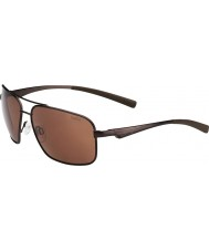 Bolle Brisbane Matt Brown Polarized A-14 Sunglasses