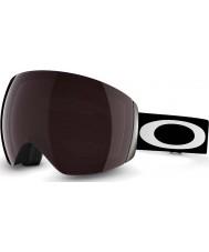 Oakley OO7050-01 Flight Deck Matte Black - Prizm Black Iridium Ski Goggles