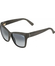 Gucci Ladies GG 3655-S 9RR KD Grey Wood Sunglasses