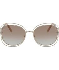 Chloe Ladies CE119S 724 60 Carlina Sunglasses