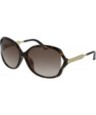 Gucci Ladies GG0076SK 003 62 Sunglasses