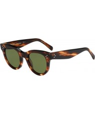 Celine Ladies CL 41053-S 9RH 1E Tortoiseshell Sunglasses