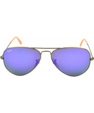 RayBan RB3025 58 Aviator Large Metal Brushed Bronze 167-1M Sunglasses