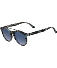 Lacoste L821S Azure Havana Sunglasses