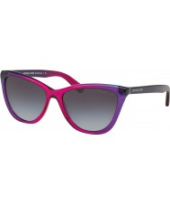 Michael Kors MK2040 57 Divya Violet Purple Gradient 322011 Sunglasses