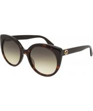 Gucci Ladies GG0325S 002 55 Sunglasses