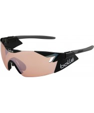 Bolle 6th Sense Shiny Black Modulator Rose Gun Sunglasses