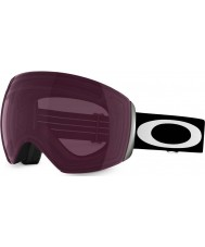 Oakley OO7050-03 Flight Deck Matte Black - Prizm Rose Ski Goggles