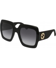 Gucci Ladies GG0102S 001 Sunglasses