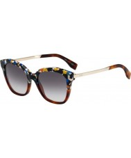 Fendi Galassia FF 0089-S CUA 9C Multicoloured Gold Sunglasses