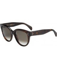 Celine Ladies CL41755 086 Z3 55 Sunglasses
