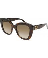 Gucci Ladies GG0327S 002 52 Sunglasses