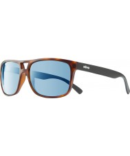 Revo RE1019 Holsby Matte Tortoiseshell - Blue Water Polarized Sunglasses