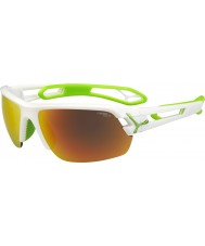 Cebe CBSTM11 S-Track White Sunglasses