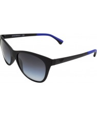 Emporio Armani EA4046 56 Essential Leisure Matte Black 53238G Sunglasses