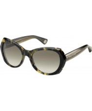 Marc Jacobs Ladies MJ 434-S 3L9 HA Tortoiseshell Sunglasses