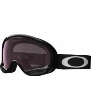 Oakley OO7044-02 A-Frame 2.0 Jet Black - Prizm Rose Ski Goggles