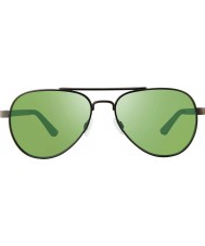 Revo RBV1000 Bono Signature Zifi Gunmetal - Green Polarized Sunglasses