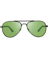 Revo RBV1000 Bono Signature Zifi Gunmetal - Green Polarized Sunglasses
