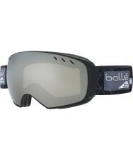 Bolle 21434 Virtuose Black and Grey Iceberg - Black Chrome Ski Goggles with Spare Lemon Gun Lens