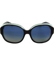 Michael Kors MK6004 59 Kauai Black Blue 30011H Polarized Sunglasses