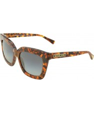 Michael Kors MK2013 53 Glam Brown Tortoiseshell 3066T3 Polarized Sunglasses