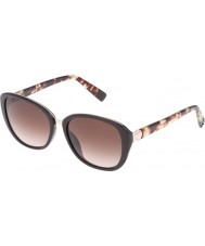 Furla Ladies College SU4905R-0D84 Shiny Full Brown Sunglasses