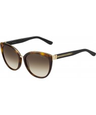89e1ef5150562 Jimmy Choo Ladies Dana-S 112 JD Havana Sunglasses