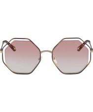 Chloe Ladies CE132S 211 58 Poppy Sunglasses