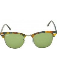 RayBan RB3016 51 Clubmaster Spotted Green Havana 11594E Sunglasses
