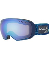 Bolle 21435 Virtuose Blue Iceberg - Aurora Ski Goggles with Spare Lemon Gun Lens