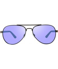 Revo RBV1000 Bono Signature Zifi Gunmetal - Lavender Polarized Sunglasses